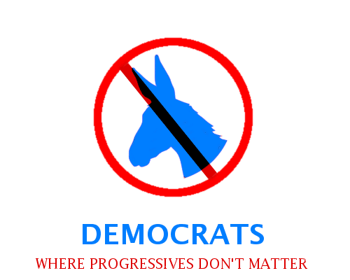 Democrats: Where Progressives Don't Matter