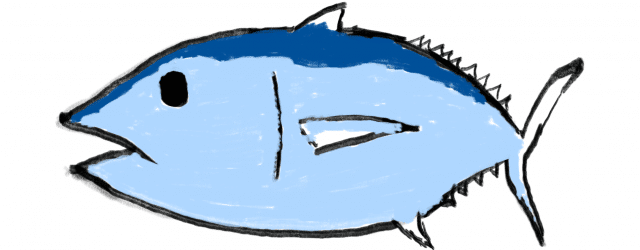 Tuna drawing